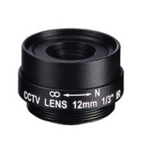 "12.0mm 1 Megapixel Fixed Iris F1.8 1/3"" CS Mount Lens"