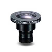 "2.3mm 2 Megapixel Fixed Iris F2.0 1/2"" Board Lens"