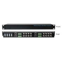 16 Channel Passive Video Balun Transceiver - 1U VPB1600TRJ