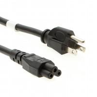 6Ft Computer Power Cord Black, SJT 18/3