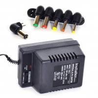 800mA Universal AC/DC adapter w/6 Plugs