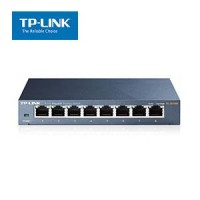 8-Port 10/100/1000Mbps Desktop Metal Switch TP-Link SG108