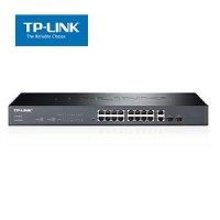 16-Port 10/100Mbps + 2-Port Gigabit Smart Switch TP-Link SL2218