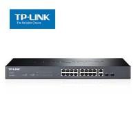 16-Port 10/100Mbps + 2-Port Gigabit Smart Switch TP-Link SL2218