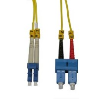 InstallerParts 4m LC-SC Duplex Singlemode 9/125 Fiber Optic Cable
