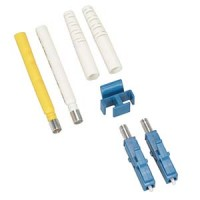 Fiber Optic LC Singlemode Duplex 2mm Connector