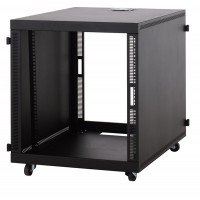 12U Compact SOHO Server Cabinet - No Doors