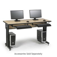 "60"" W x 24"" D Training Table - Hard Rock Maple"