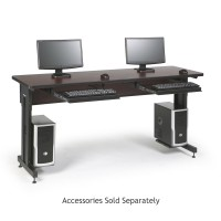 "72"" W x 24"" D Training Table - African Mahogany"