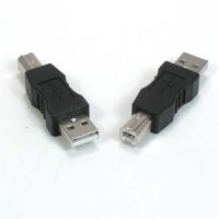 USB A-Male to B-Male Adapter