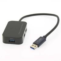 USB3.0 3-Port Hub with SD/TF Reader