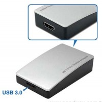 Otimo USB3.0 to HDMI Slim Adapter with Audio (USB2.0 Compatible)