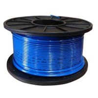 THHN 14AWG Solid 500Ft Blue Reel