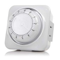 Otimo 12 Hour Mechanical Coundown Timer 2-Prong Plug