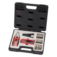 InstallerParts 18 Pieces Compression Connector Tool kit