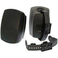 Indoor/Outdoor Wallmount 2-Way Speakers Black BL520 1 Pair (2pc)