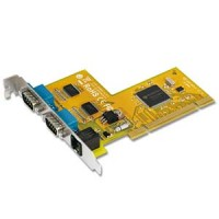 2-Port RS-232 & Cash Drawer Interface Universal PCI Card