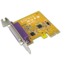 1 Port IEEE1284 Parallel PCI Low-Profile Express Card