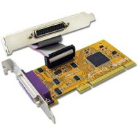 2 Port IEEE1284 Parallel Low-Profile PCI Card