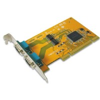 2-port RS-232 Universal PCI Serial Remap Board