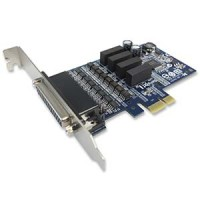 Industrial 4 Ports RS-422/485 w/ Surge & Isolation PCI-Express Serial Card