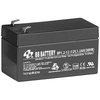 12V 1.2Ah Battery, T1 Terminal BP1.2-12-T1