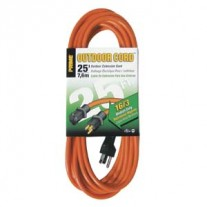 25Ft 16/3 Outdoor Extension Cord