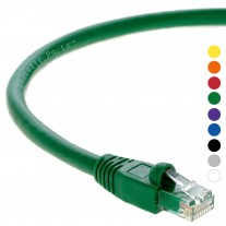 50Ft Cat.6A Patch Cable Molded Green