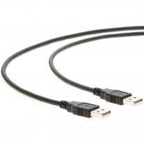 3Ft A-Male to A-Male USB2.0 Cable Black