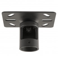 "Fixed Mount Ceiling Plate for 1.5"" NPT Pipe -- for LCD LED Plasma TV Flat Panel Displays Projectors and More"