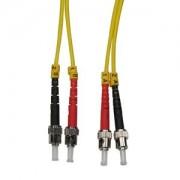 5m ST-ST Duplex Singlemode 9/125 Fiber Optic Cable