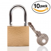 Padlock for InstallerParts Lockable Series TV Mounts, 10Pack