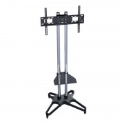 "Flat TV Mobile Cart for 37~70"" with DVD Deck T1021S (2box/Kit)"