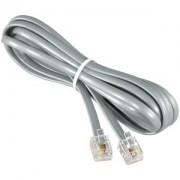 25Ft RJ11 Modular telephone Cable Straight