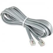 25Ft RJ12 Modular Cable Straight