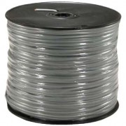 1000Ft 4 Conductor Silver Satin Modular Cable Reel 28AWG