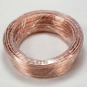 50Ft 22AWG Bulk Polarized Speaker Wire Coil