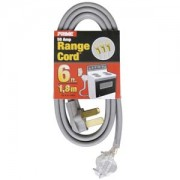 6Ft 6/2 & 8/1 50 Amp 3-Wire Range Extension Cord