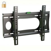 "InstallerParts Lockable TV Mount 23""~37"" Tilt Slim BWLT102S - LCD LED Plasma Flat Panel Displays - Locking Wall Bracket Perfect for Hotels or Outdoor"