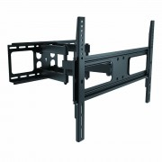 """InstallerParts Flat or Curved TV Mount for 37 ~70"""" Fullmotion Max 600x400 VESA2 110lbs LPA36-466"""