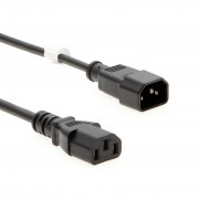 6Ft Computer Power Extension Cord Black, SVT 18/3