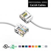 Professional Series Ethernet Cable CAT5E Cable UTP Non-Booted 1 FT 350MHZ Purple 100 Pack InstallerParts 1Gigabit//Sec Network//Internet Cable