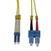 InstallerParts 1.5m LC-SC Duplex Singlemode 9/125 Fiber Optic Cable
