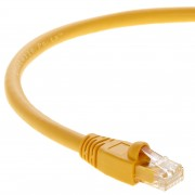 4Ft Cat.6A Patch Cable Molded Yellow