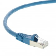 90Ft Cat.7 SSTP Patch Cable 600MHz Molded Blue