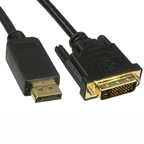 10Ft Display Port Male to DVI Male Cable
