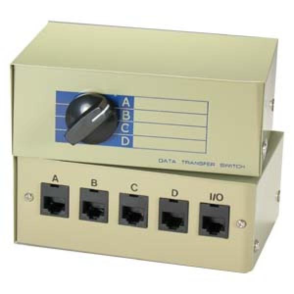 RJ45 4way Switch Box