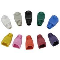 Color Boots for RJ45 Plug Pink 20pk