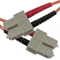 2m SC-SC Duplex Multimode 50/125 Fiber Optic Cable