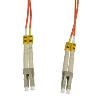 2m LC-LC Duplex Multimode 50/125 Fiber Optic Cable